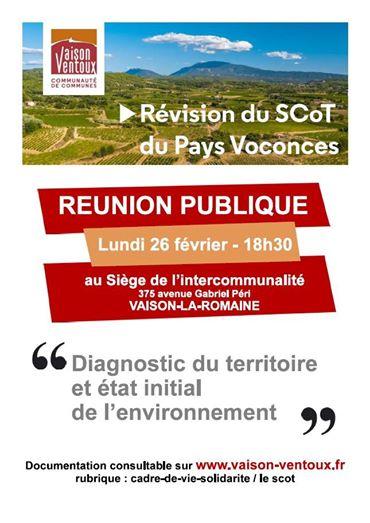 SCOT Vaison Ventoux